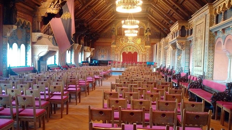 Festsaal auf der Wartburg Eisenach