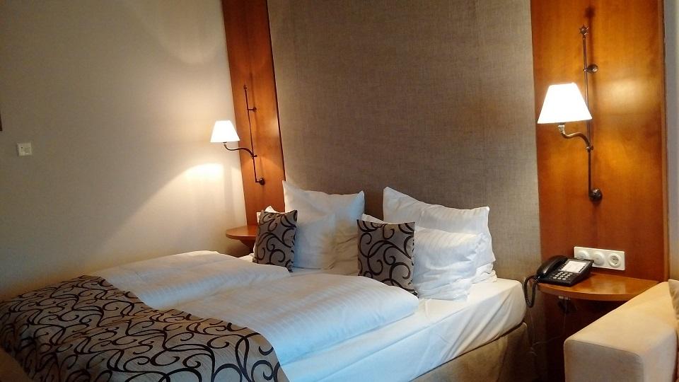 Hotelzimmer im Berghotel