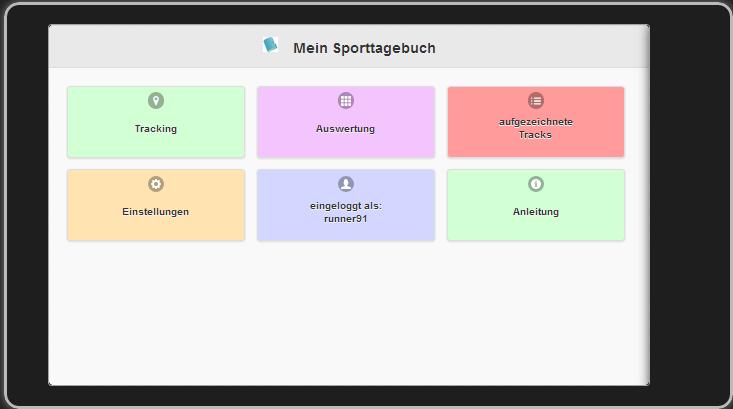 Mein Sporttagebuch Tracking App